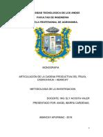 Metologia de La Investigacion ...