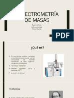 Espectrometría de Masas (1) Hgv
