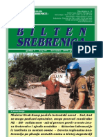 Bilten Srebrenica, broj 38, Udruženje Građana Žene Srebrenice