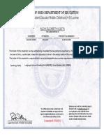 klesta - teaching license