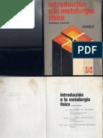 Introduccion a La Metalurgia Fisica Avner Segunda Edicion