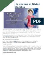 Hoy Inicia La Novena Al Divino Niño en Colombia