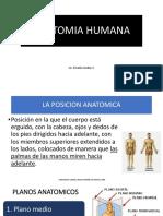 Anatomia Humana Clase 1 Conceptos Basicos