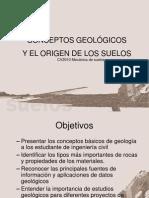 CONCEPTOS GEOLÓGICOS