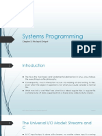 Systems Programming Chapter 3