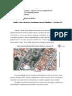 Crítica - Praça Guadalupe Amado - Victor Hugo