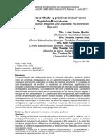ANÁLISIS DE LAS ACTITUDES Y PRÁCTICAS INCLSUIVAS EN REPUBLICA DOMINICANA.pdf
