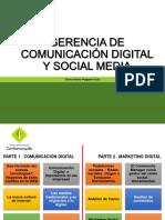 Comunicación Digital y Social Media Julio 21.18