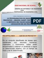 Clases Unid 2 de Ing. Proyectos Pert-cpm 2018-i