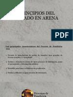 Principios Del Colado en Arena