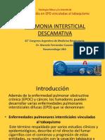 09.10 Hs Dr Fernandez Casares (Neumonia Intersticial Descamativa)