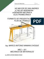 Plan de Trabajo MEC 221 2018
