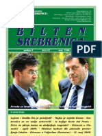 Bilten Srebrenica, broj 42, Udruženje Građana Žene Srebrenice