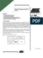 Atmel-Code Lock with 4x4 Keypad and I2C™ LCD