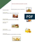 PRINCIPALES INGREDIENTES DE LOS PRODUCTOS CAPILARES Y SU ACCIÓN.docx