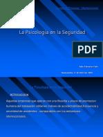 04-04-17 La Psicologia en La Seguridad J Palomino