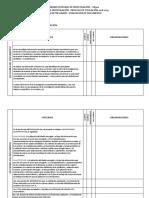 Evaluacion Del Documento de Instancia Pregrado 2018 - 2019
