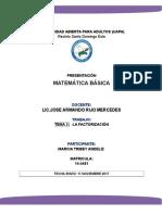 Wilton a. Pérez, Introd. Matematica Basica-Tema 02-La Factorización