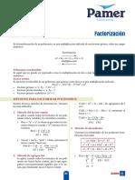 X 5ºAño S6 Factorización
