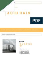 Biology Acid Rain (Final) (1)