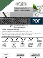 Cómo Extraer Criterios de Evaluación y Elaboración ÍTEMS