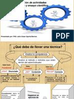 Elaboración de Actividades Didácticas y Ensayo Científico