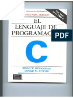 El Lenguaje de Programación C - 2da Edición - Brian W. Kernighan & Dennis M. Ritchie.pdf