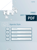Real Estate House Ions PowerPoint Template