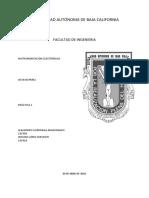 Práctica 2 Instrumentación Electrónica