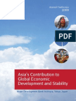 Asia's Contribution to Global Economic Development and Stability