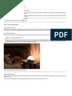 10 Hacks to a Better Night's Sleep - Ali Fitness