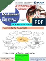 Propuesta de Diseño Sociocultural en El Aprendizaje de Calculo