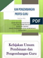 Materi Kebijakan Pkb-pkg