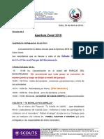 Apertura Zonal CIRCULAR 2