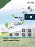 Toshiba DI- Heat Pump RAV-SM Inverter