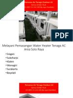 WA 085725142100,Aircon Water Heater Tanpa listrik dan Gas,Aircon Water Heater ARSA,
