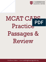 MCAT+CARS+Practice+Passages+&+Review