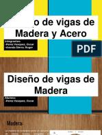 Diseño de Vigas de Madera y Acero