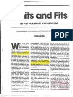 Preferred Limits and Fits Paper