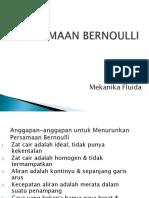 5 Persamaan Bernoulli Ok