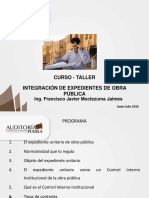 Material Curso Integracion Expediente Obra Publica