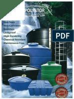 POLYSTOR Polyethylene Tank