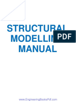 Structural Modelling Manual