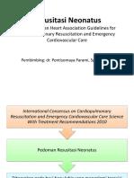 Resusitasi Neonatus Guideline