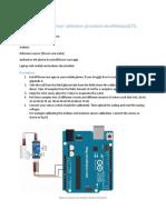 Soil Moisture Sensor Calibration Procedure SenzMate