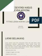 Presentasi Fitting Lensa Kontak