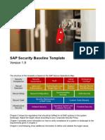 SAP Security Baseline Template V1.9