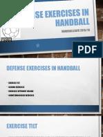 Slideapp.net-Defense Exercises in Handball
