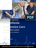 Anesthaesia and Intensive Care