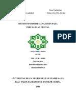 resume sistem informasi manajemen pada perusahaan digital